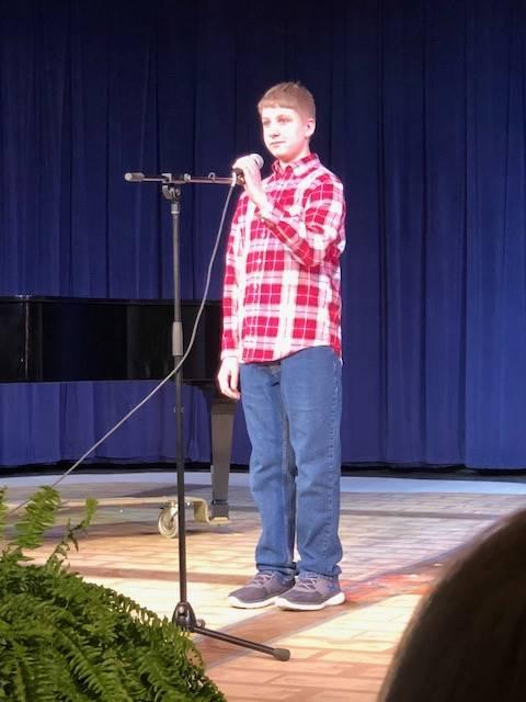 Josh Freeman (6th Grader)
