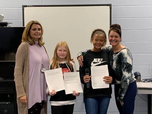 6th Graders Read Essays