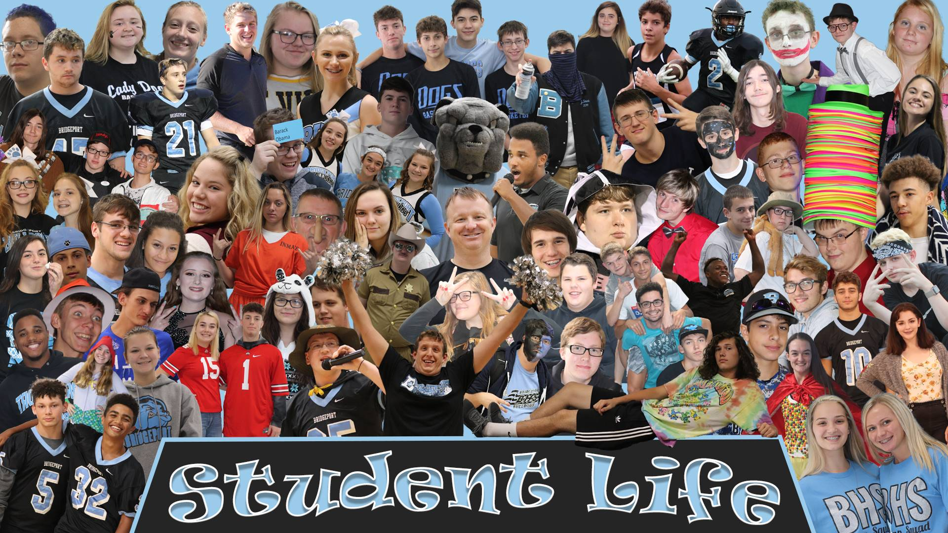 Student Life Composite Image