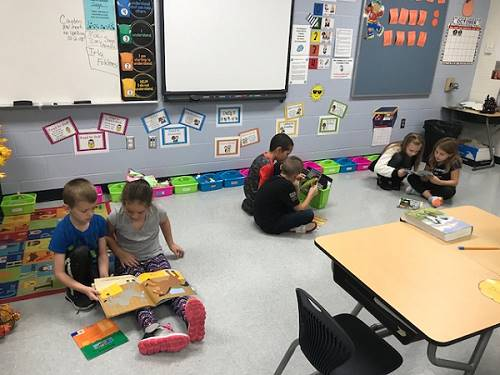 Miss Schambach's Second Grade Class Activities