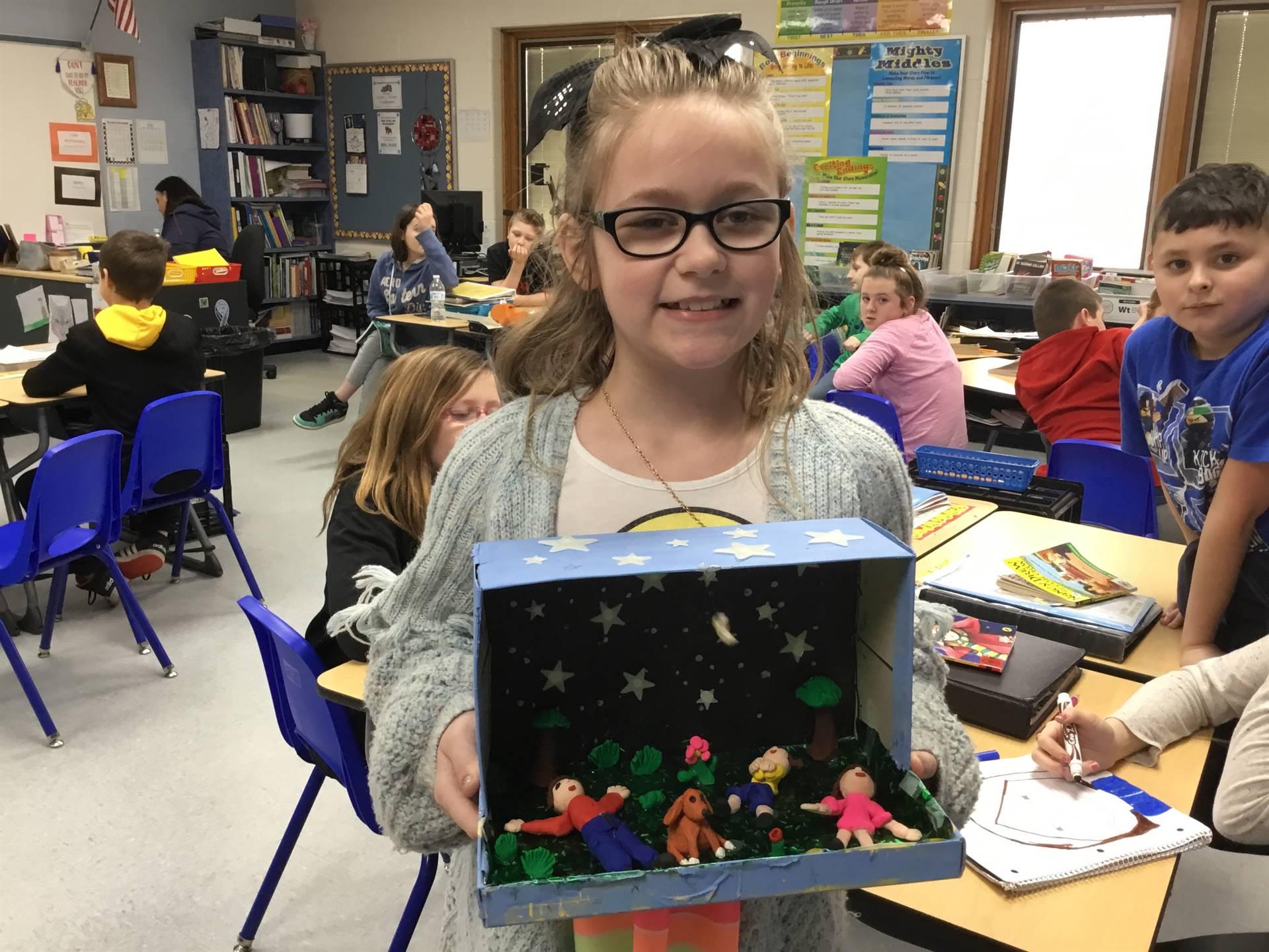 4th Grade Presents ELA Projects