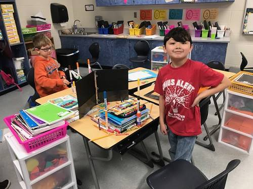 Students Complete STEM Activity