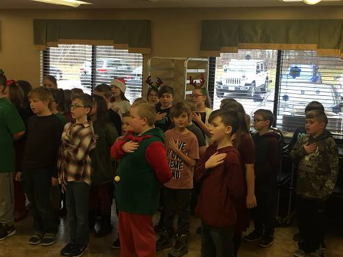 3rd Grade Spreads Holiday Cheer