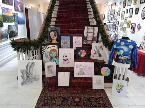 Students Visit Stifel Fine Arts Center