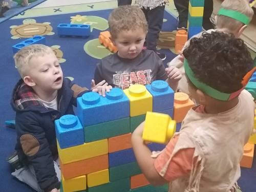 Preschool Students Learn about Empathy in Center Activities