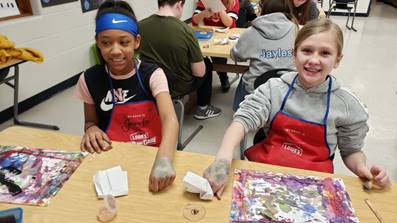 Art Club Students Learn From Stifel Fine Arts Center