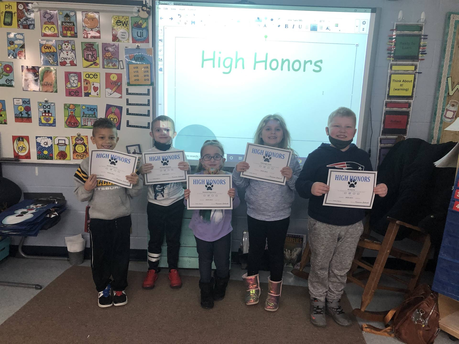 Mrs. Liston's High Honors