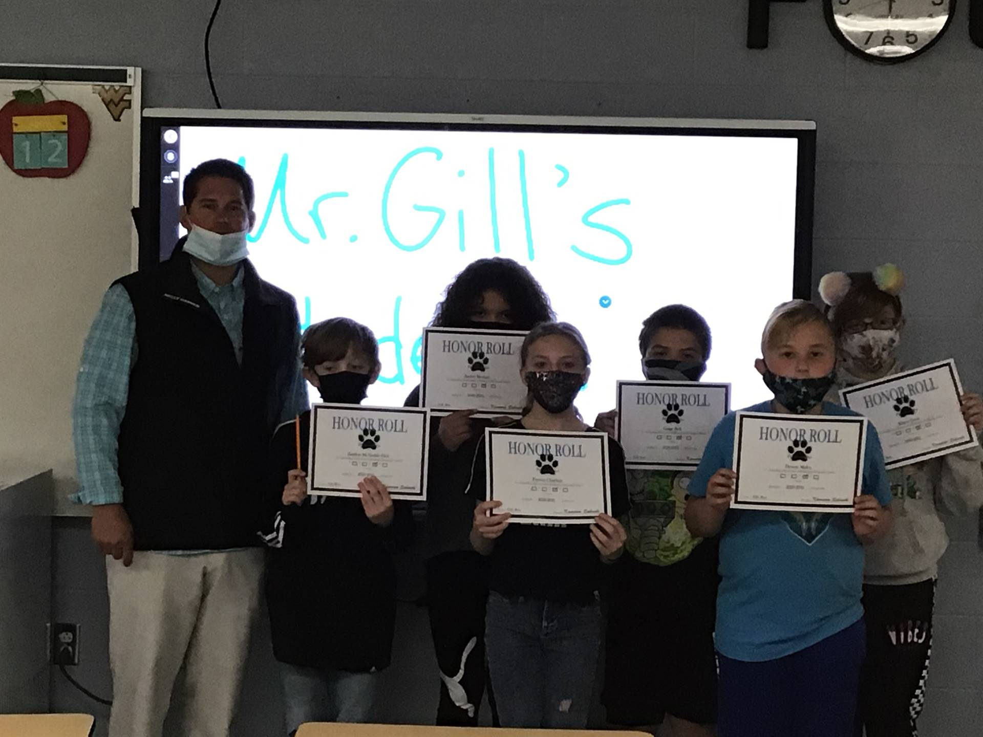Mr. Gill's 4th Grade Class