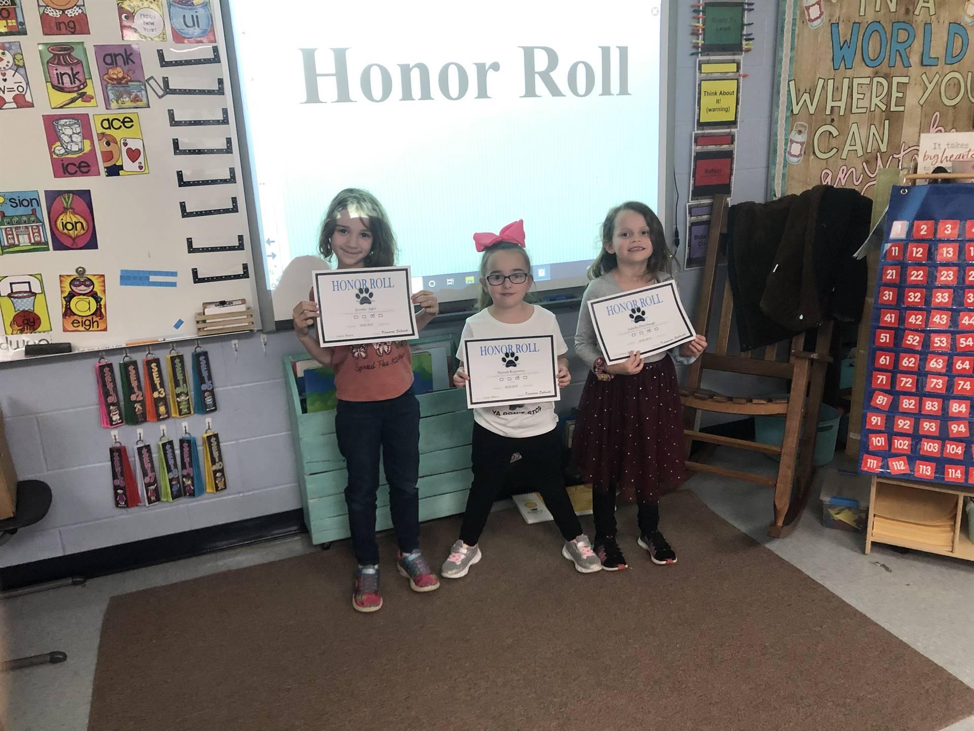 Mrs. Liston's 1st Grade Class